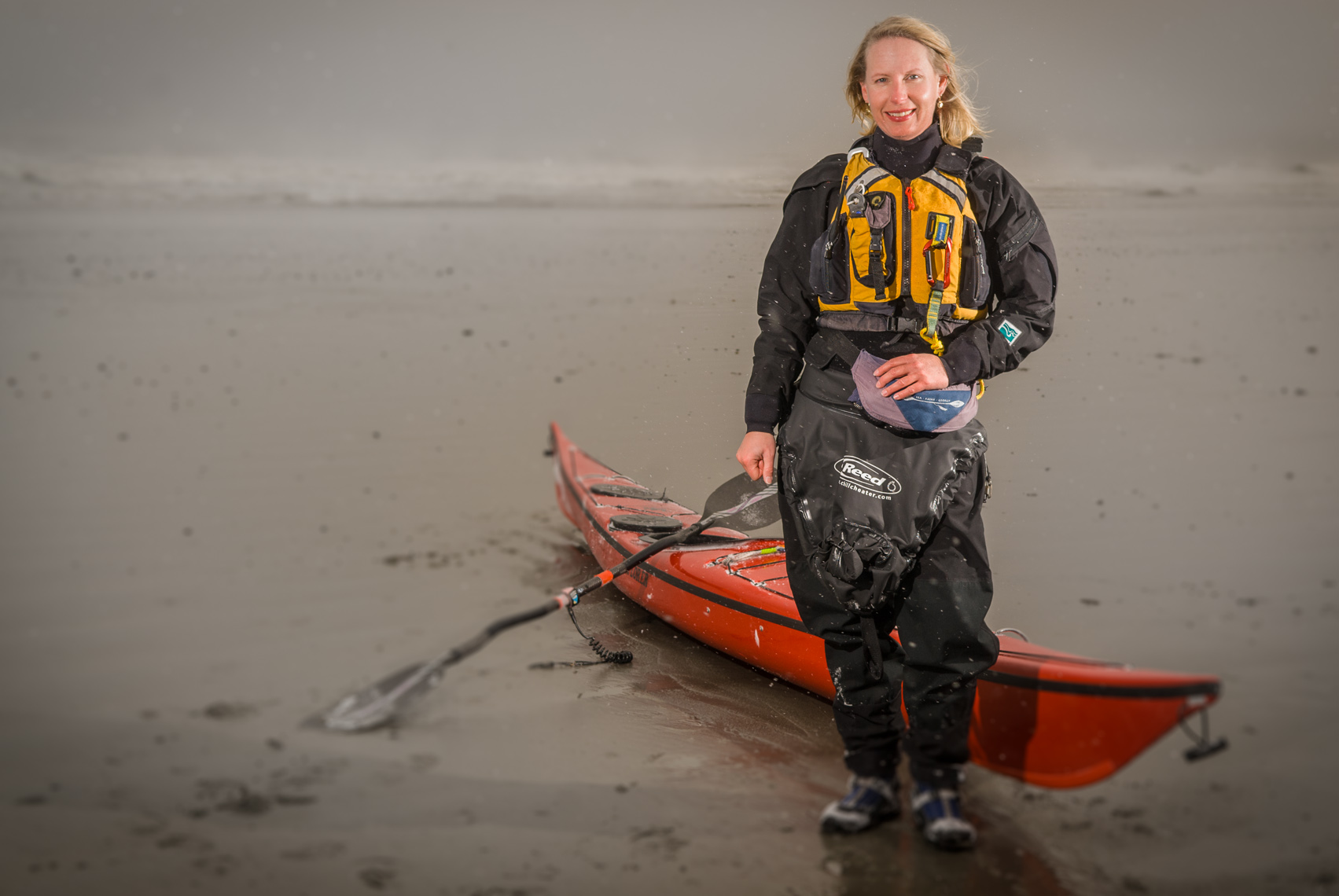 Environmental Portrait | Kayaker Paula Riegel
