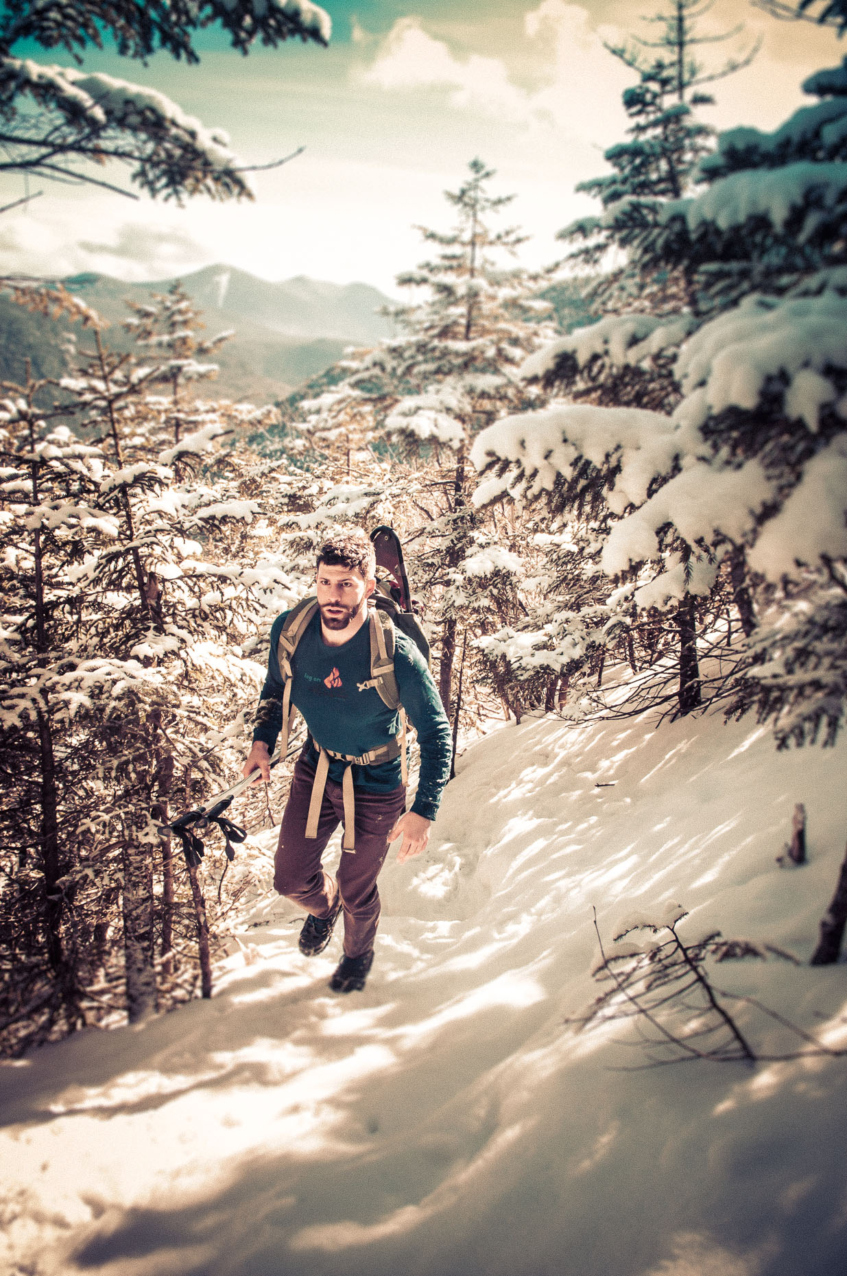 Winter Hiking | Mount Osceola