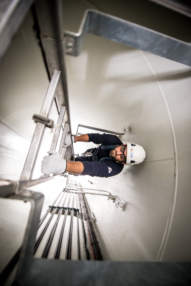 Wind Turbine Technicians | Tower Climbing