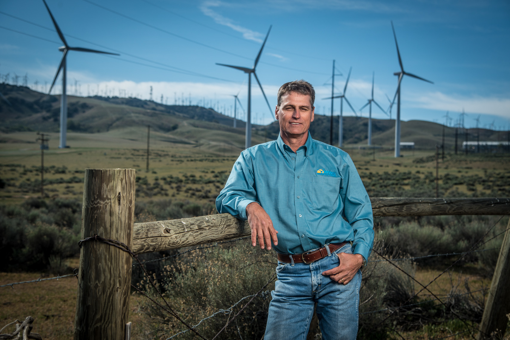 Clean Energy Executive Photographer | World Wind and Solar Services