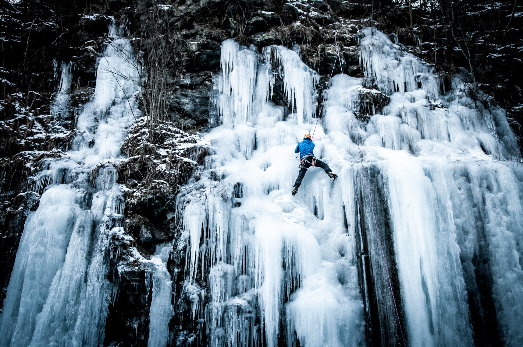 Ice Climbing New England | Winter Adventure | Outdoor Lifestyle