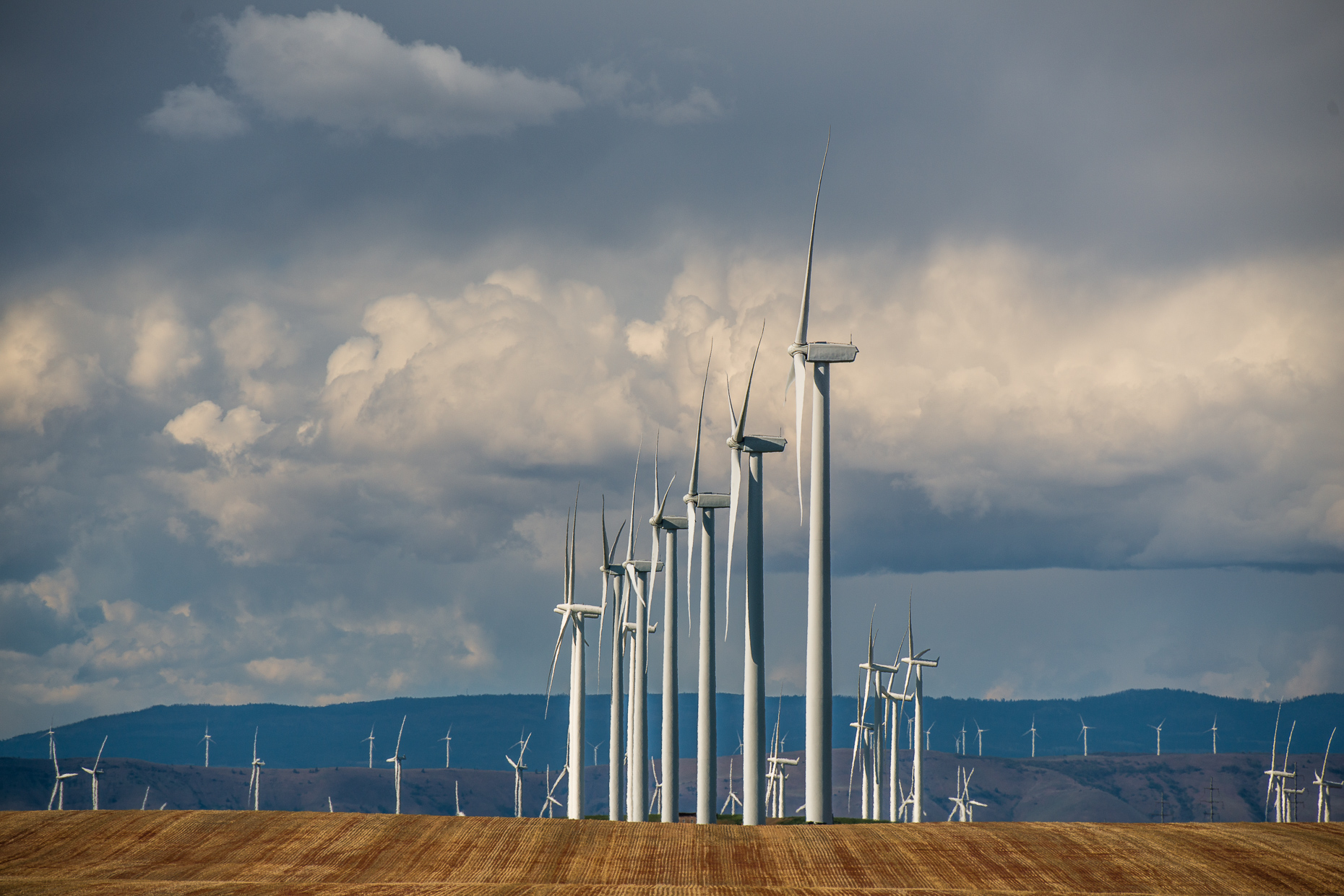 Oregon Renewable Energy | Wind Turbine Photography