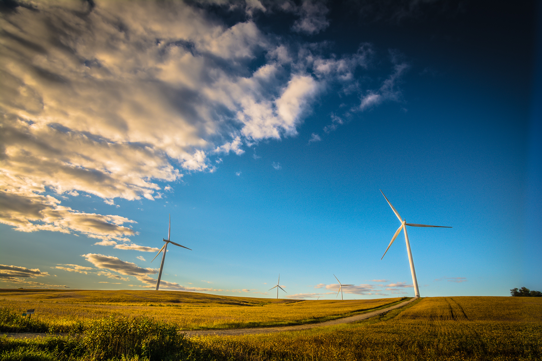 Iowa Wind Energy Photographer | Industrial Photography