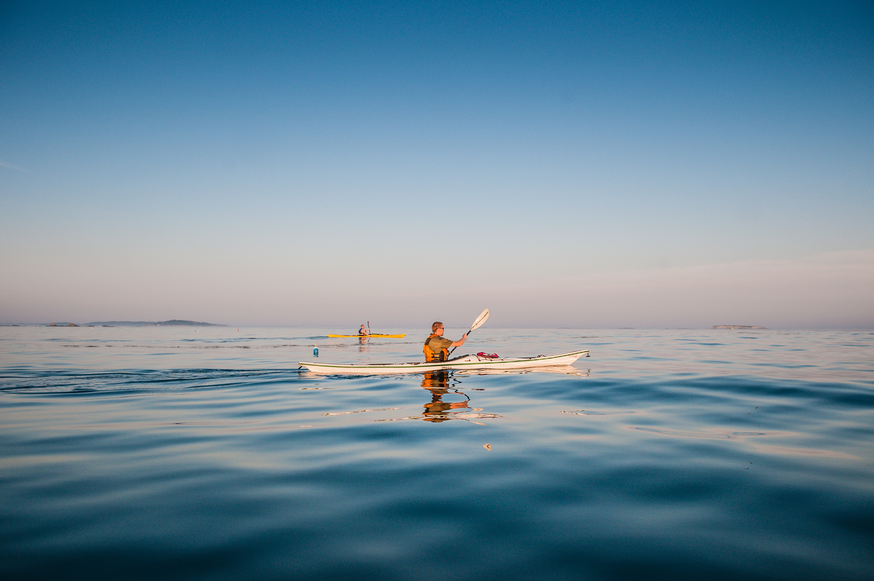 Maine Kayaking Photography | Outdoor Lifestyle Images