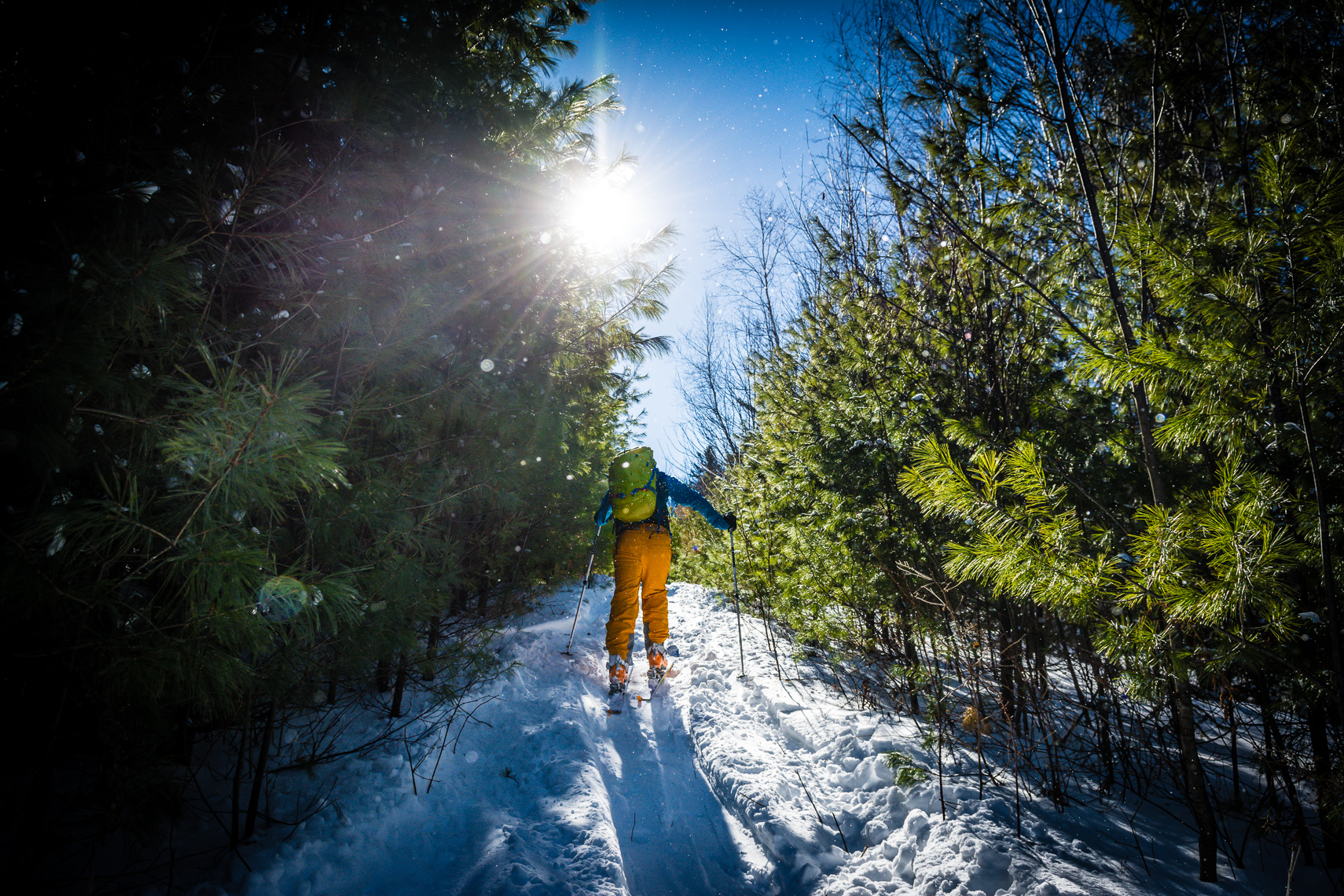 Backcountry Skiing Photography / New England Outdoor Lifestyle Photography