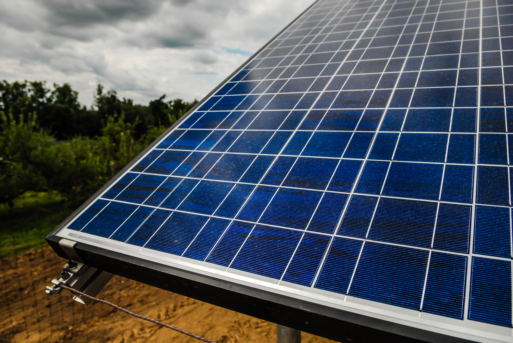 Photovoltaic Construction Photography | Commercial Photography in the Solar Industry