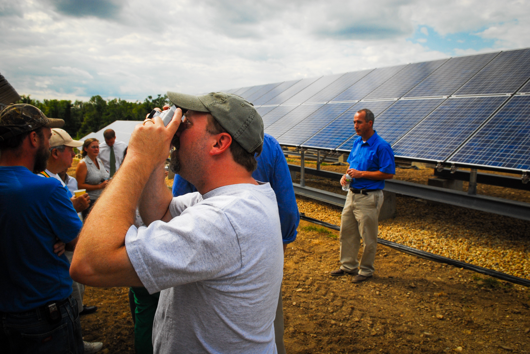 Solar Energy Construction Photographer | Massachusetts Industrial Photography